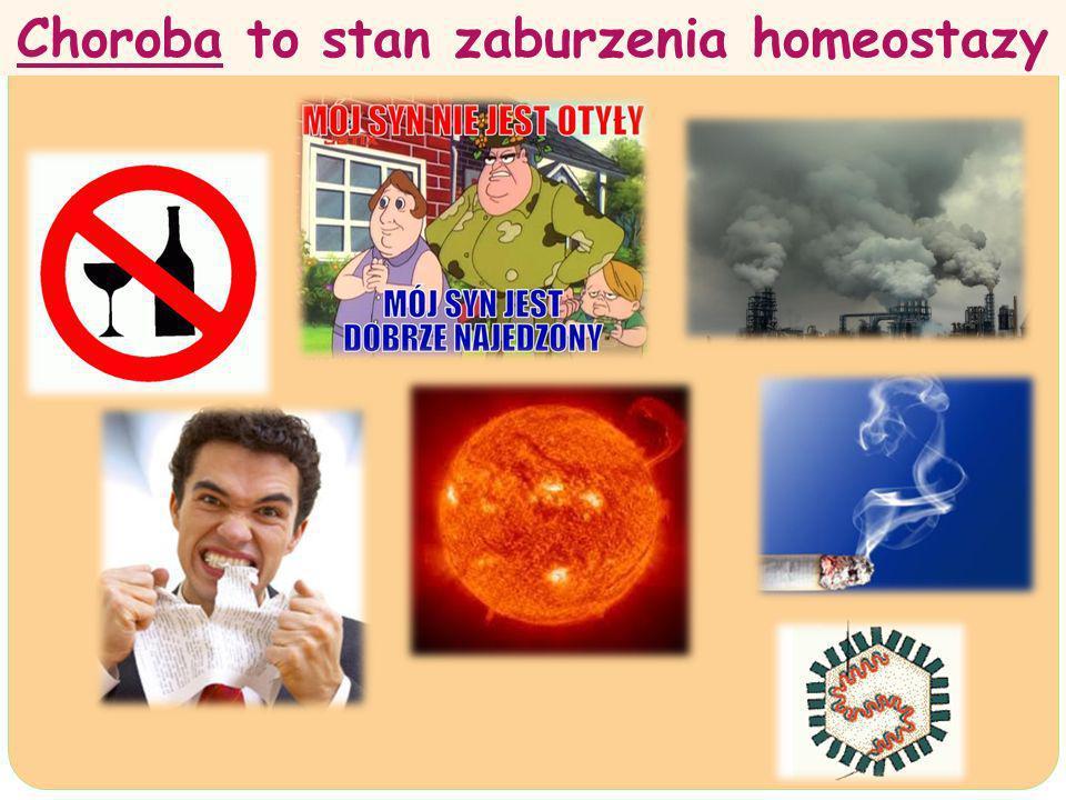 Choroba to stan zaburzenia homeostazy