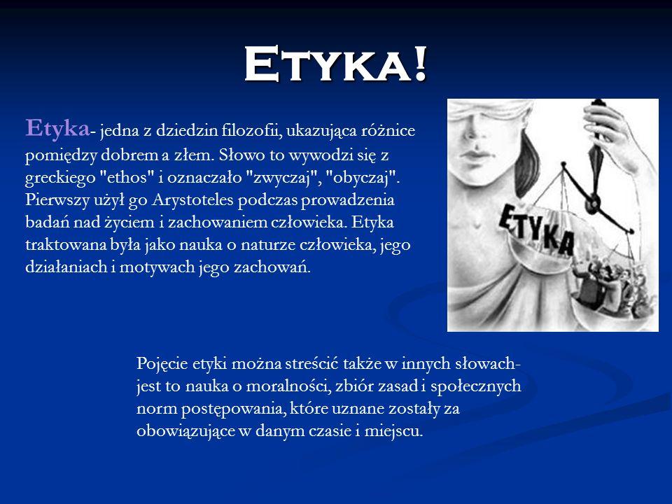 Etyka!