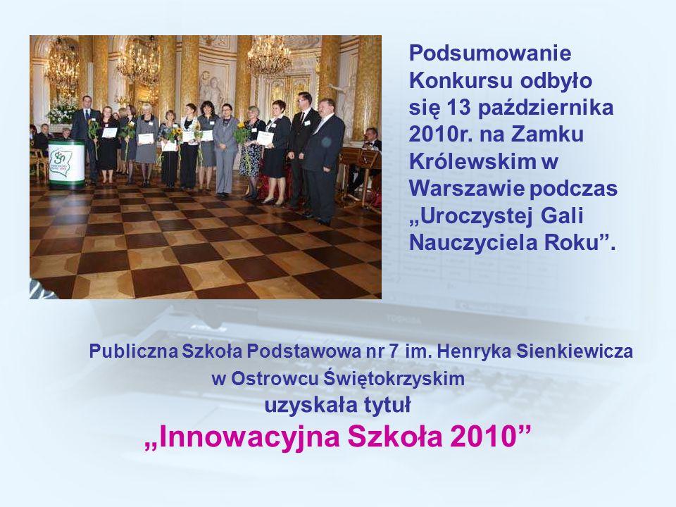 Podsumowanie Konkursu odbyło się 13 października 2010r