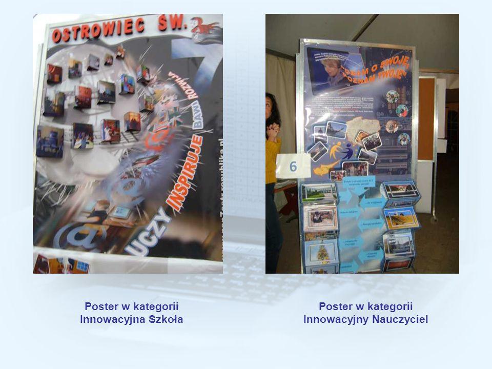 Poster w kategorii Innowacyjna Szkoła