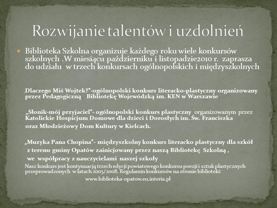 Rozwijanie talentów i uzdolnień