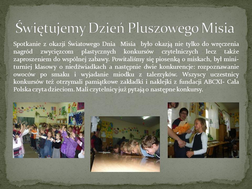 Świętujemy Dzień Pluszowego Misia