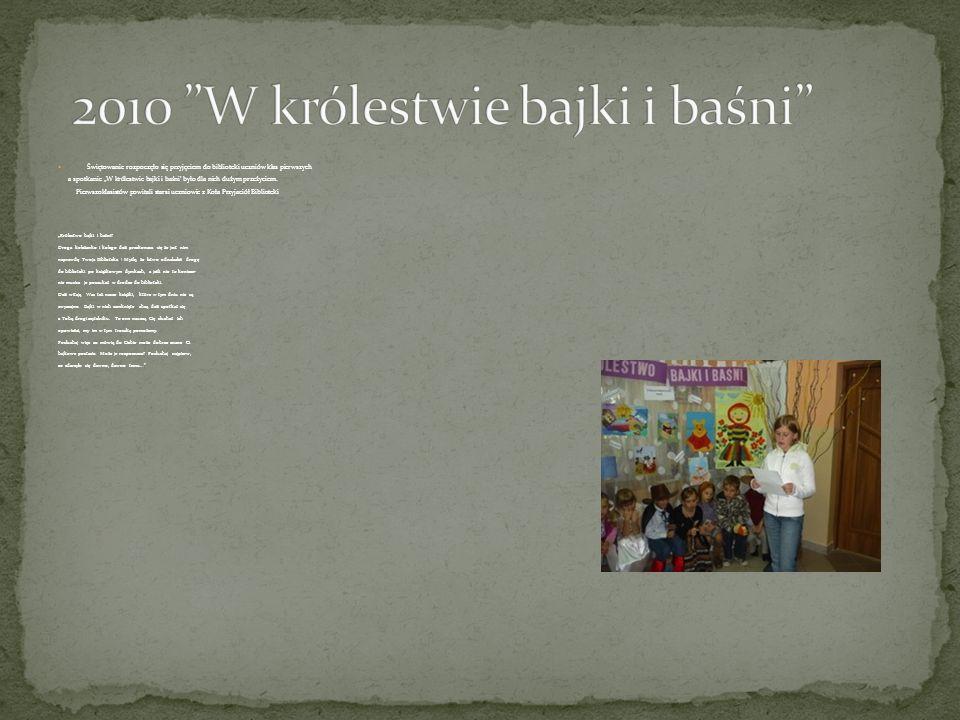 2010 W królestwie bajki i baśni
