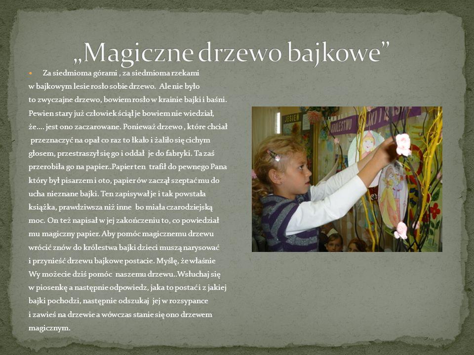 """""""Magiczne drzewo bajkowe"""