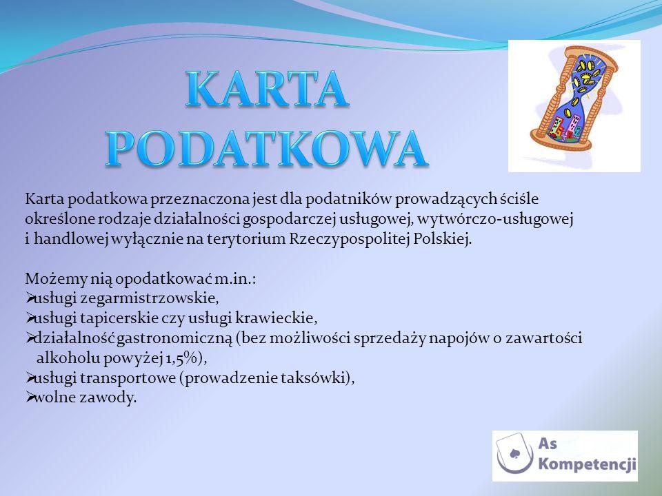 KARTA PODATKOWA