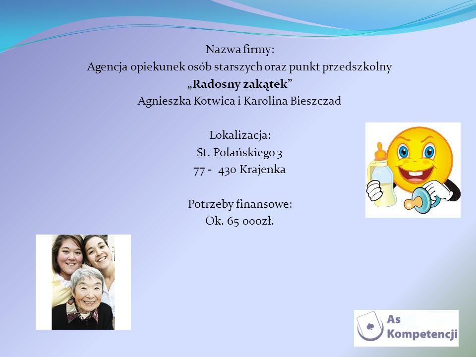 Agencja opiekunek osób starszych oraz punkt przedszkolny