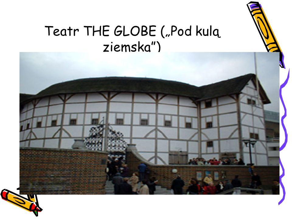 """Teatr THE GLOBE (""""Pod kulą ziemską )"""