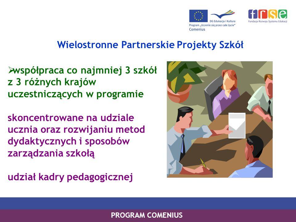 Wielostronne Partnerskie Projekty Szkół