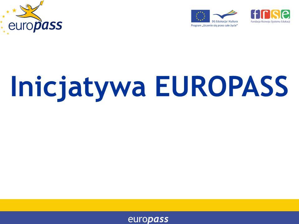 Inicjatywa EUROPASS europass