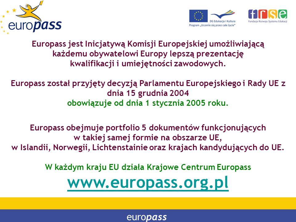 www.europass.org.pl europass