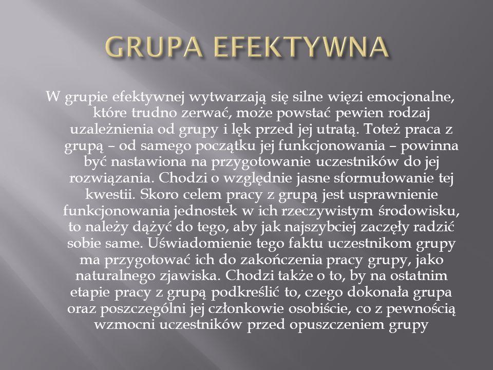 GRUPA EFEKTYWNA