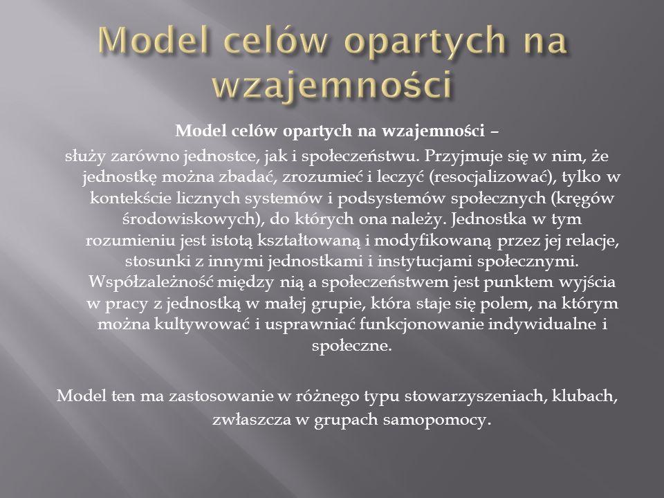 Model celów opartych na wzajemności