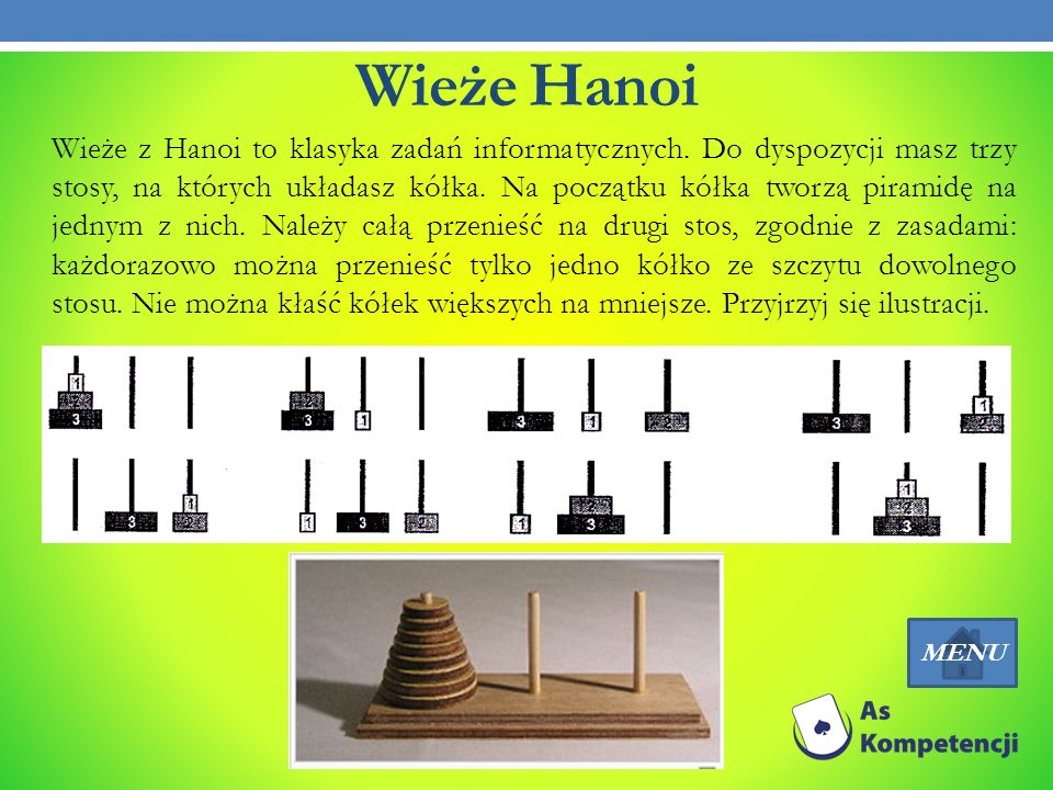 Wieże Hanoi