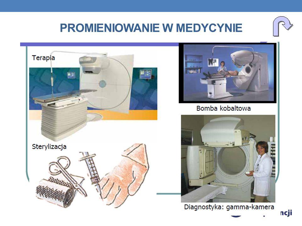 Promieniowanie w Medycynie