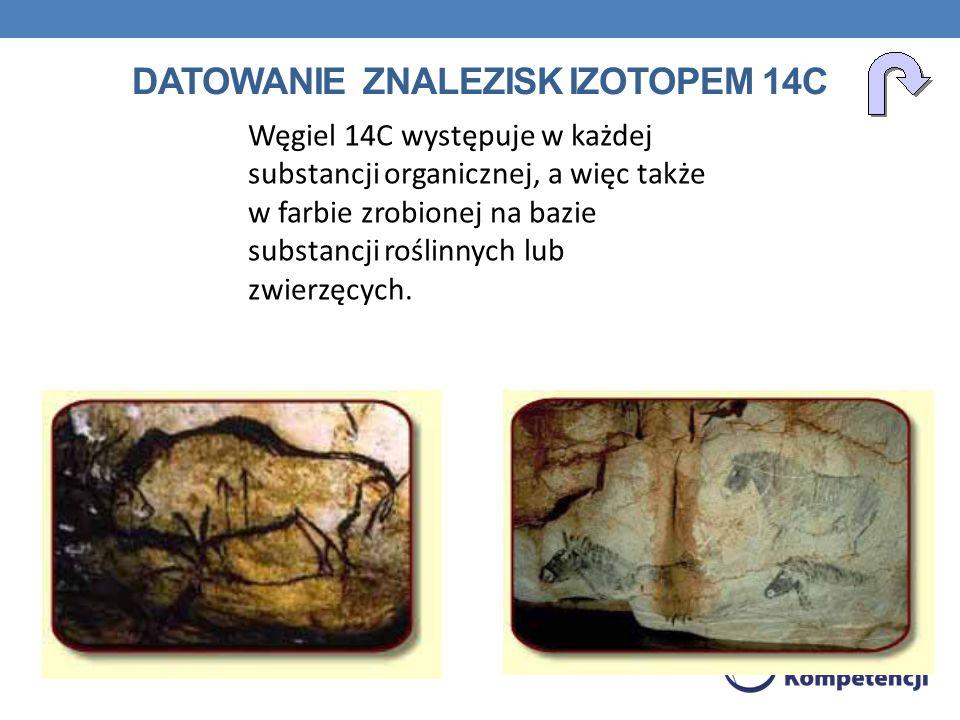 Datowanie znalezisk izotopem 14C