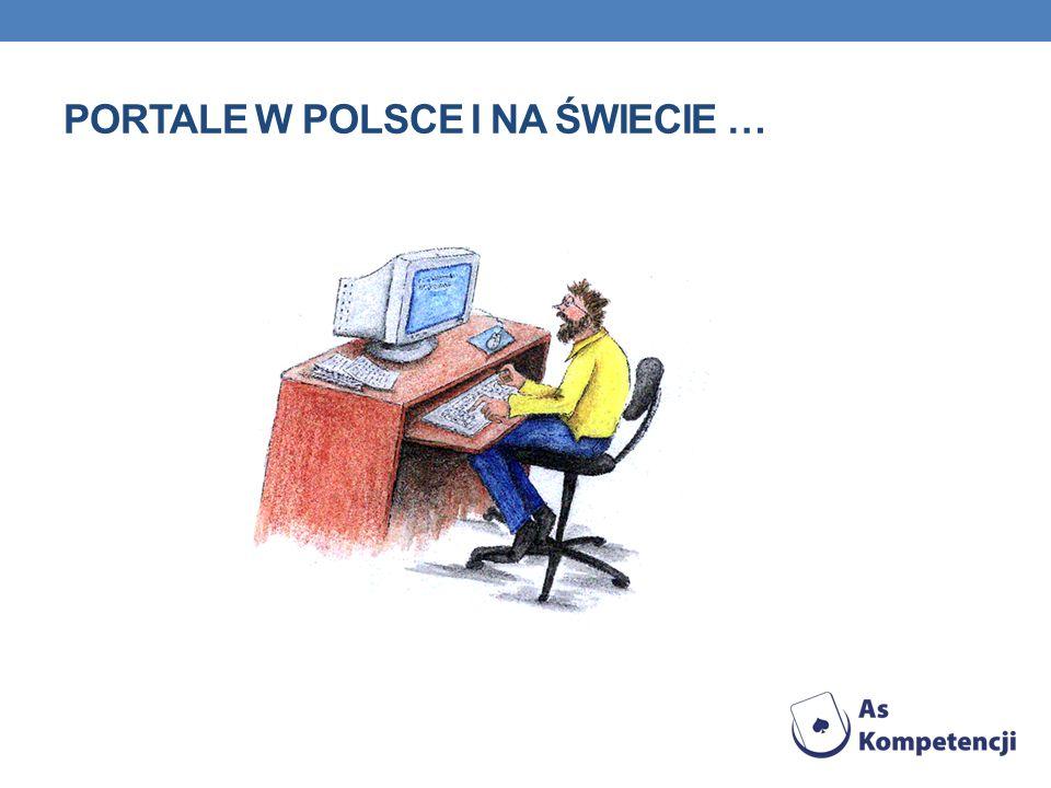 Portale w Polsce i na świecie …