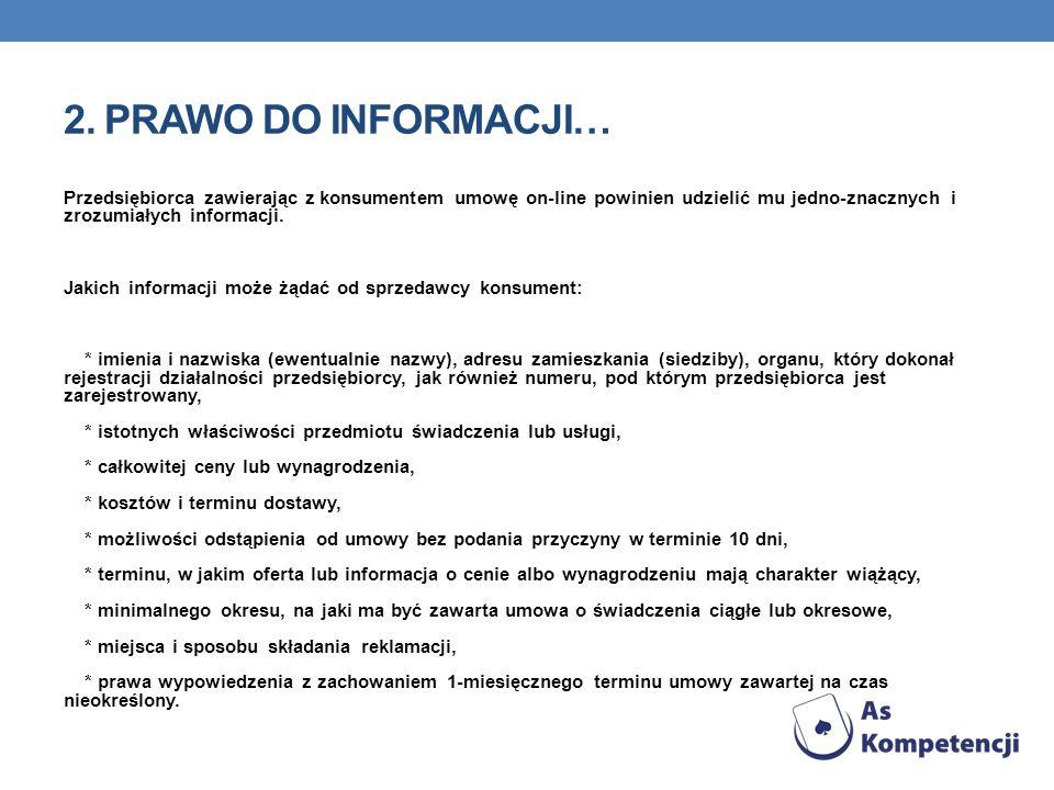 2. Prawo do informacji…