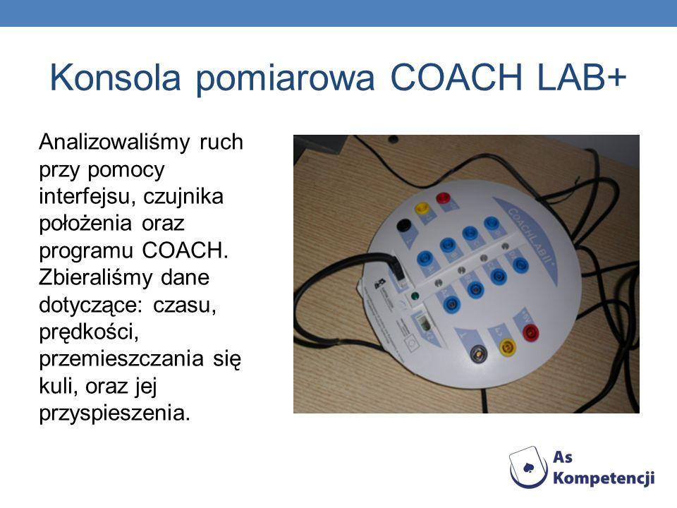 Konsola pomiarowa COACH LAB+