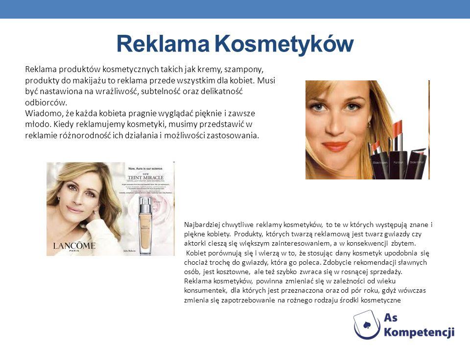 Reklama Kosmetyków