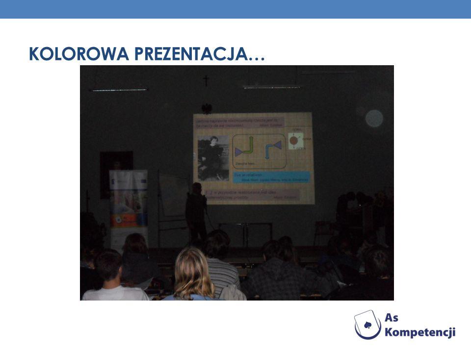 Kolorowa prezentacja…