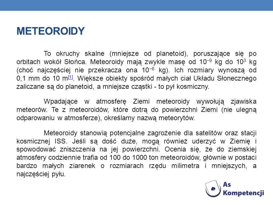 meteoroidy
