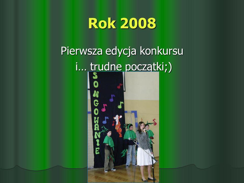 Pierwsza edycja konkursu