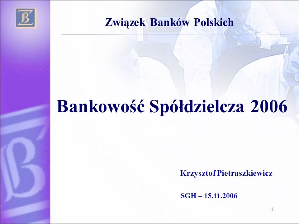 Bankowość Spółdzielcza 2006