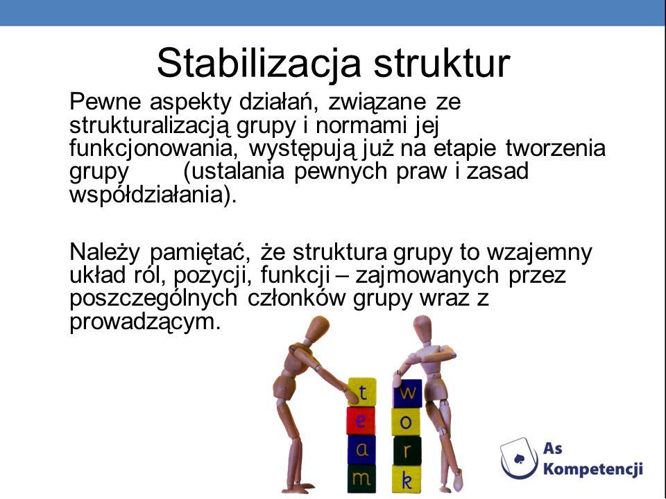 Stabilizacja struktur
