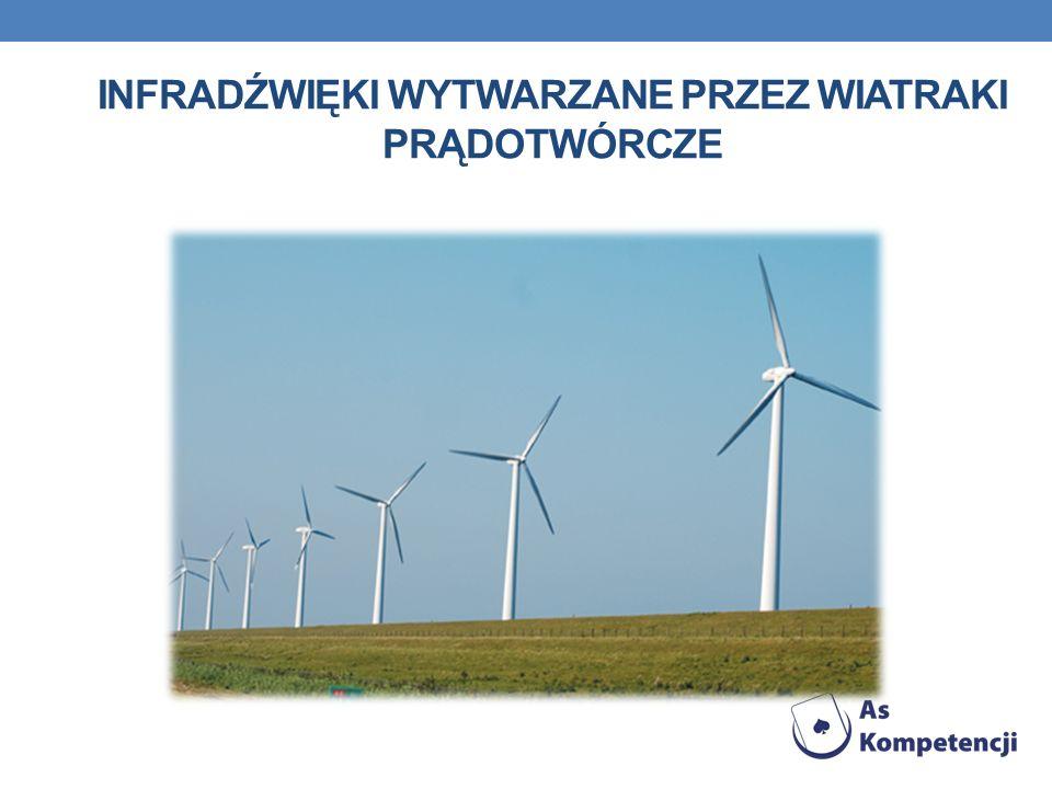 Infradźwięki wytwarzane przez wiatraki prądotwórcze