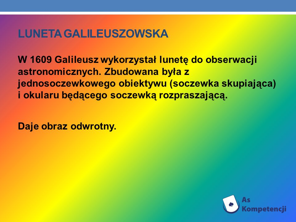 Luneta galileuszowska