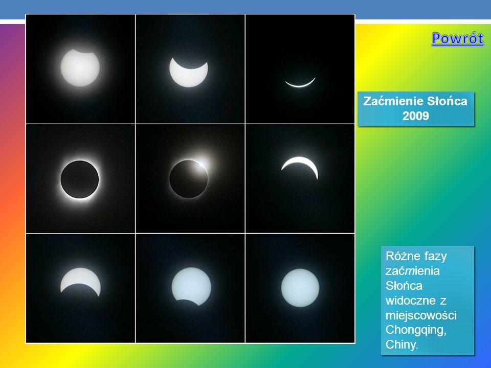 Powrót Zaćmienie Słońca 2009