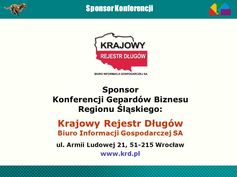 Sponsor Konferencji