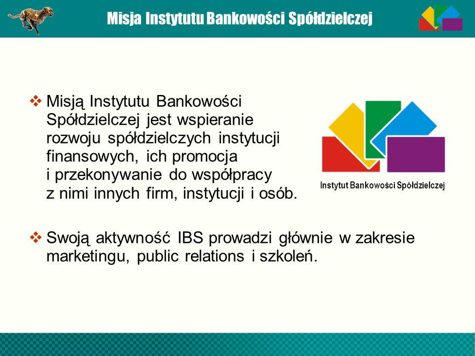 Misja Instytutu Bankowości Spółdzielczej