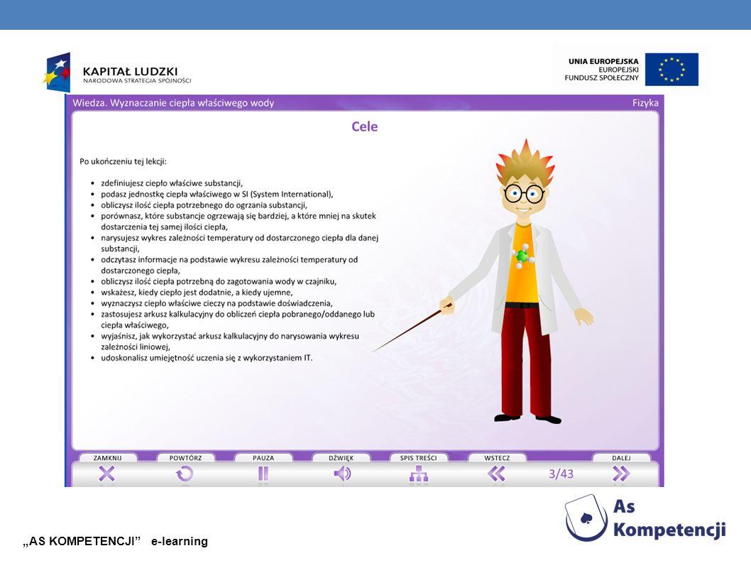 """AS KOMPETENCJI e-learning"