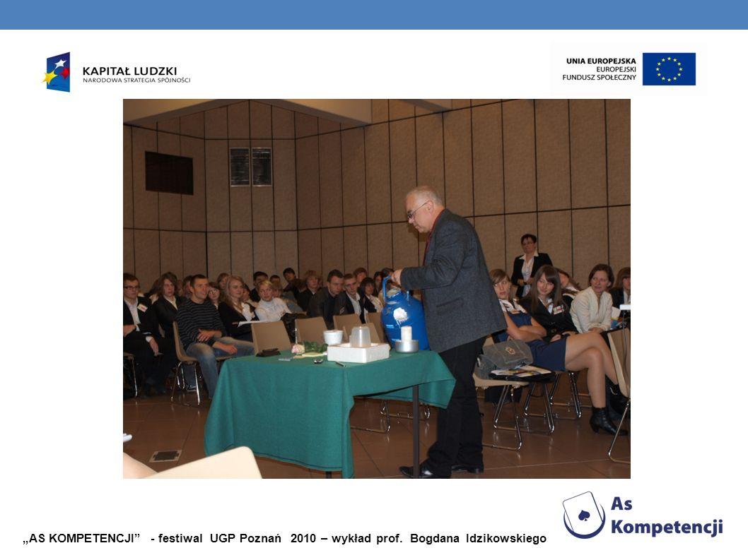 """""""AS KOMPETENCJI - festiwal UGP Poznań 2010 – wykład prof"""