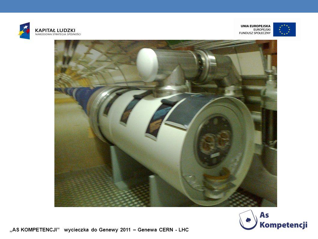 """""""AS KOMPETENCJI wycieczka do Genewy 2011 – Genewa CERN - LHC"""