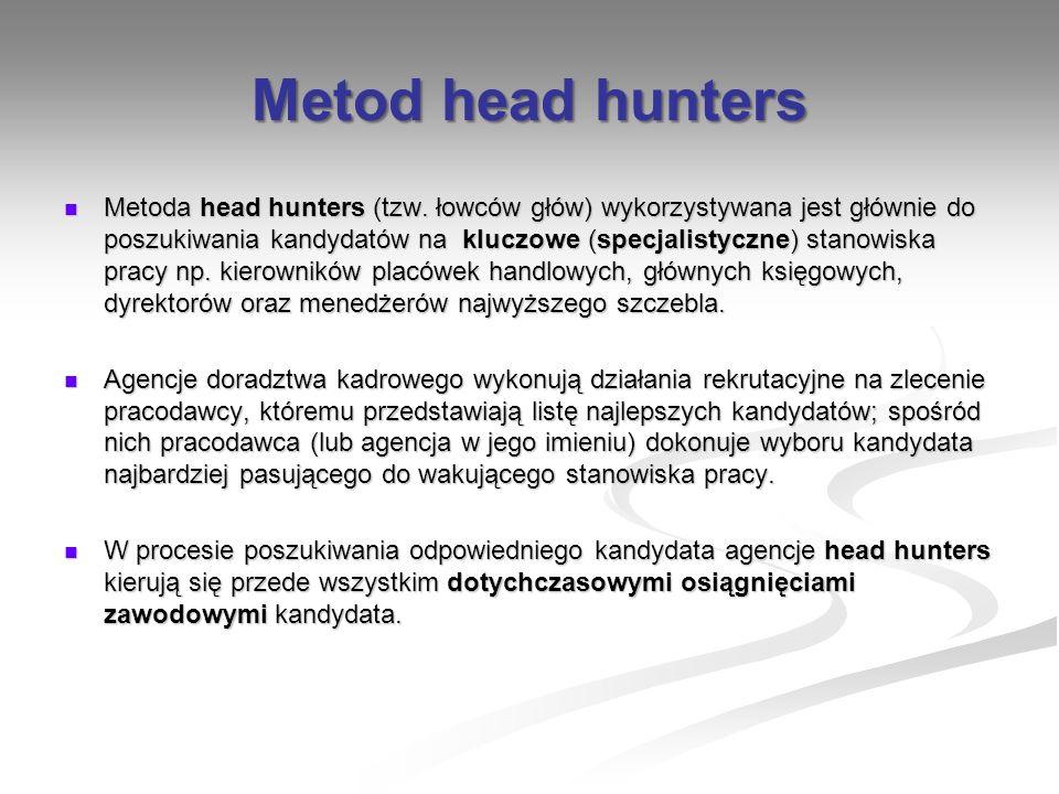 Metod head hunters