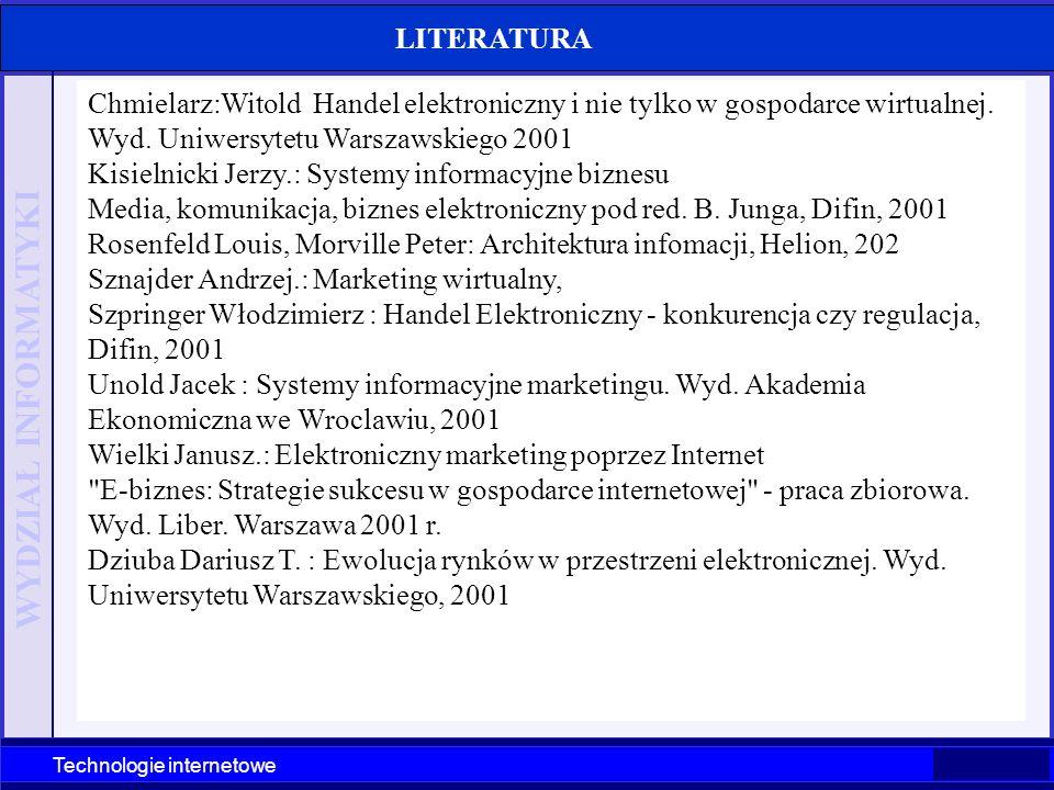 Technologie internetowe Szczecin' 2003