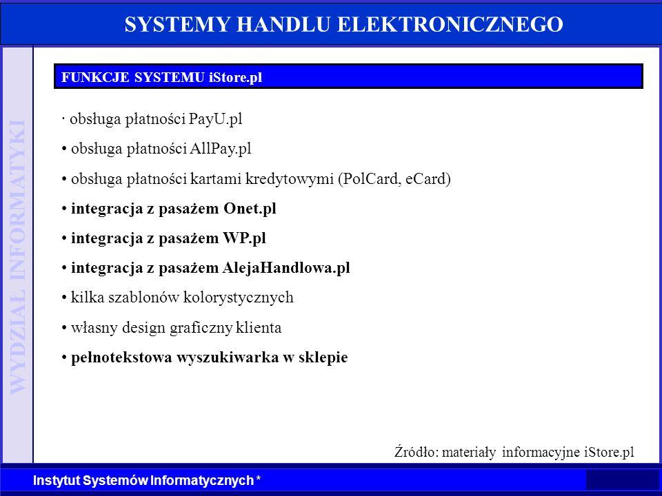 Źródło: materiały informacyjne iStore.pl