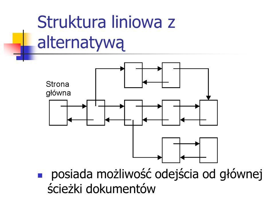 Struktura liniowa z alternatywą