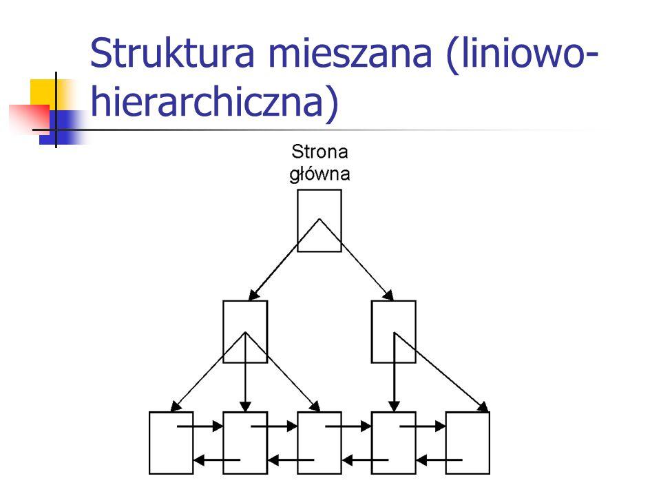 Struktura mieszana (liniowo-hierarchiczna)