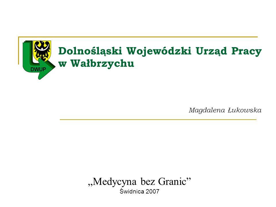 Dolnośląski Wojewódzki Urząd Pracy w Wałbrzychu