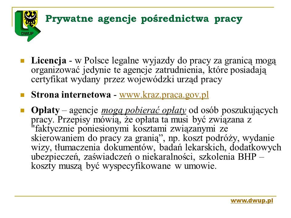 Prywatne agencje pośrednictwa pracy