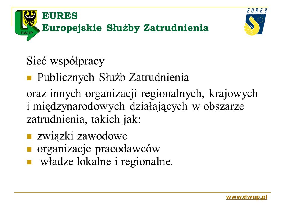 EURES Europejskie Służby Zatrudnienia