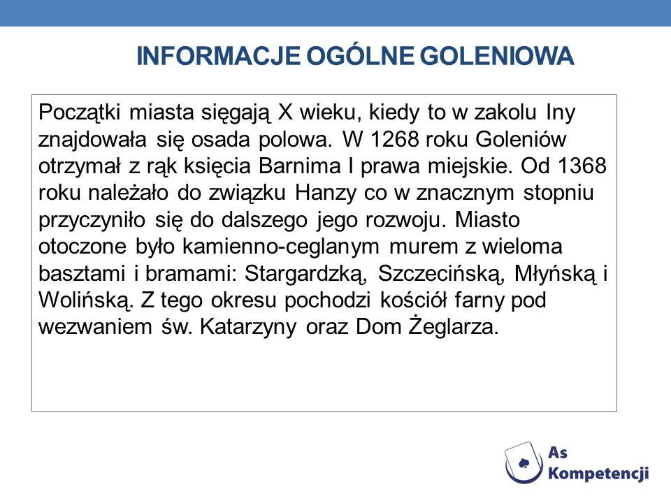 Informacje oGólne Goleniowa