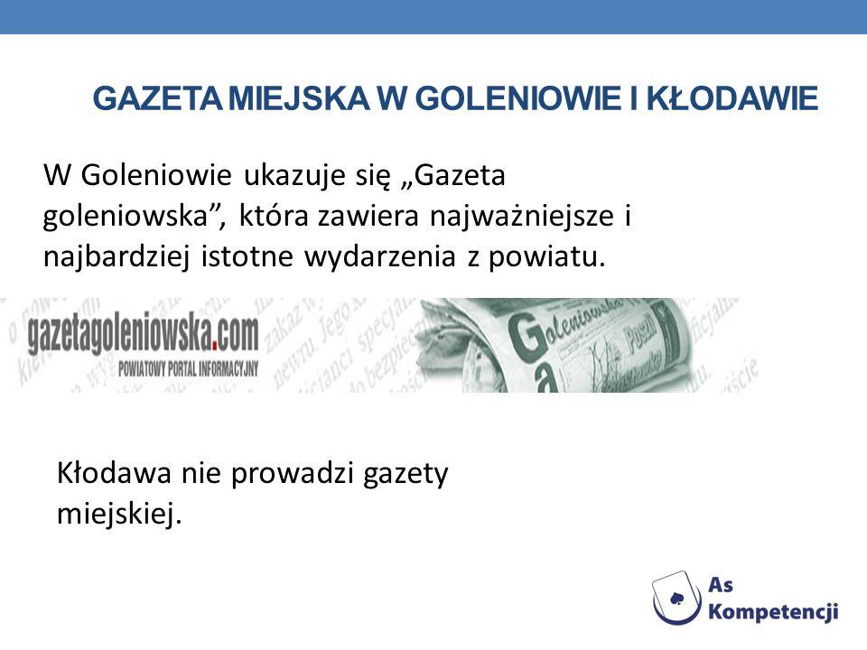 Gazeta miejska w Goleniowie i Kłodawie