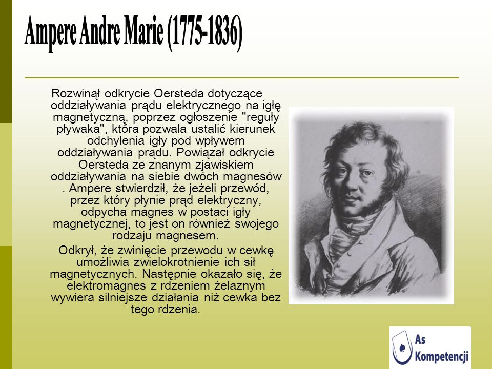 Ampere Andre Marie (1775-1836)