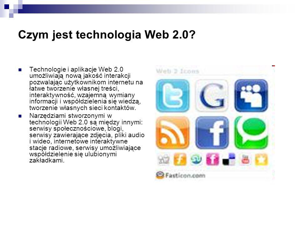 Czym jest technologia Web 2.0