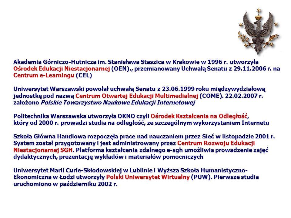 Akademia Górniczo-Hutnicza im. Stanisława Staszica w Krakowie w 1996 r