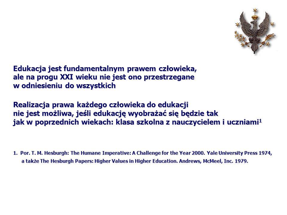 Realizacja prawa każdego człowieka do edukacji